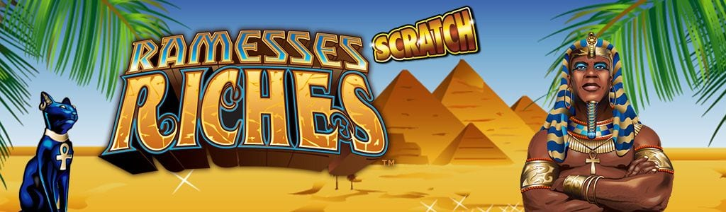 Scratch Ramesses Riches wizard slot