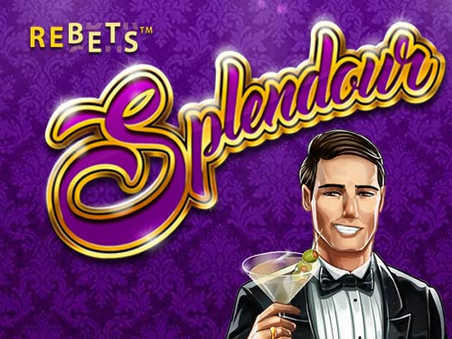 Rebets Splendour online slots game logo