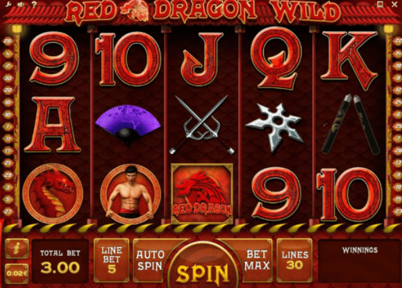 Red Dragon Slots gameplay