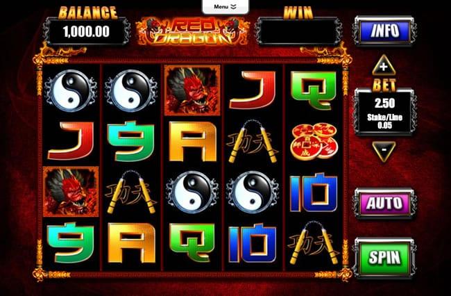 Red Dragon gameplay