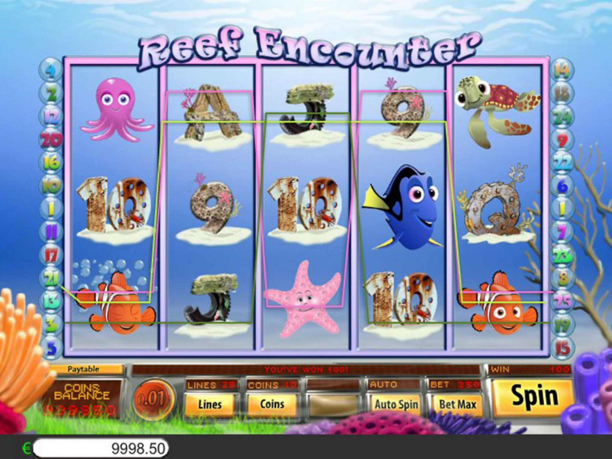 Reef Encounter Free Slots