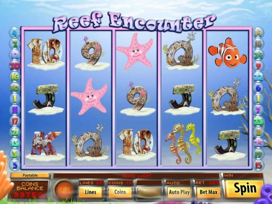 Reef Encounter Slot UK