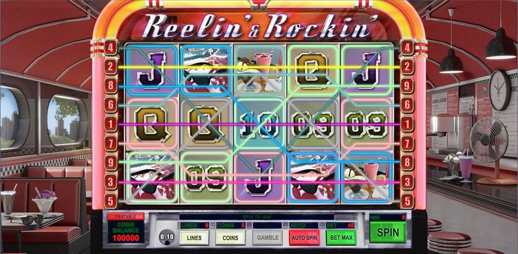 Reelin' & Rockin' Free Slots