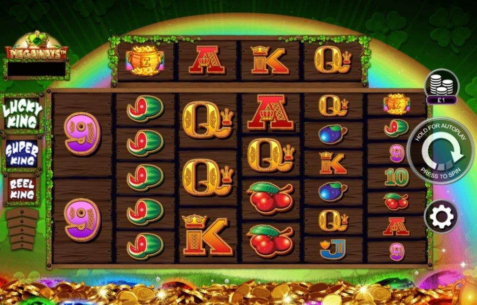 Reel Lucky King Megaways Slots Reels