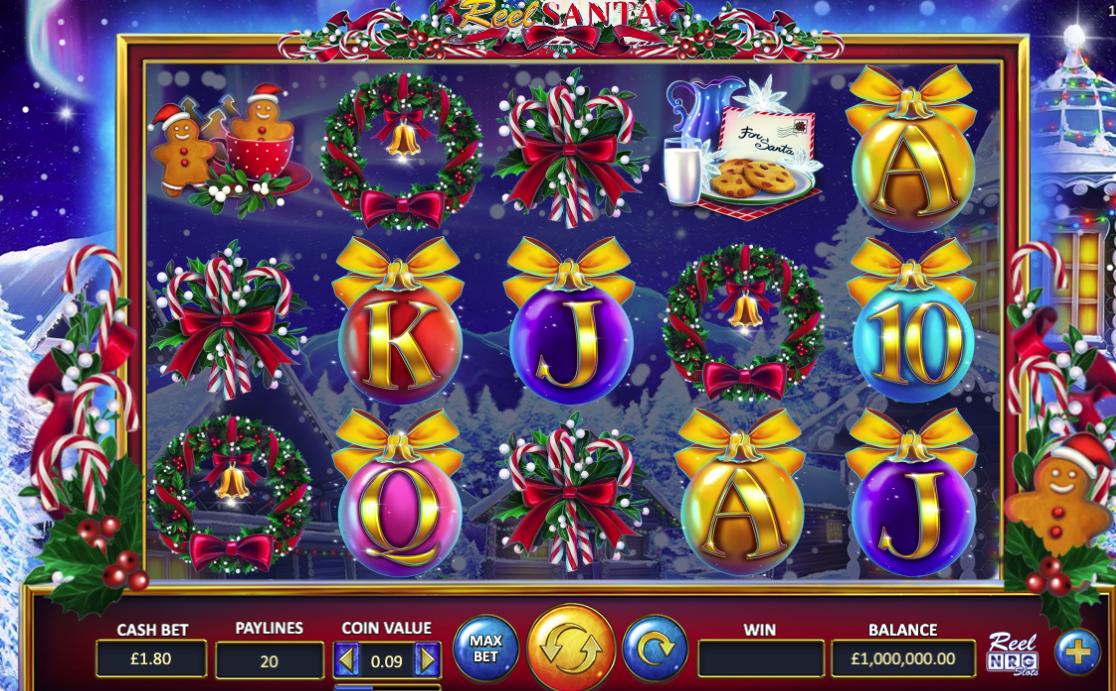 Reel Santa Slots Reels