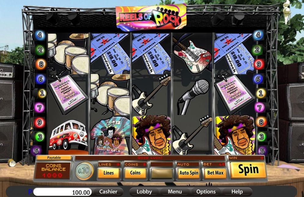 Reels of Rock Slots Online