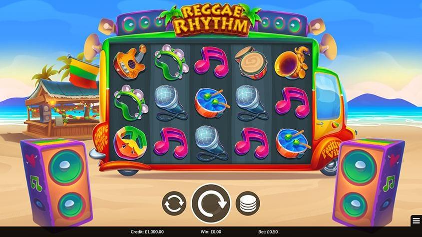 Reggae Rhythm Slot Gameplay