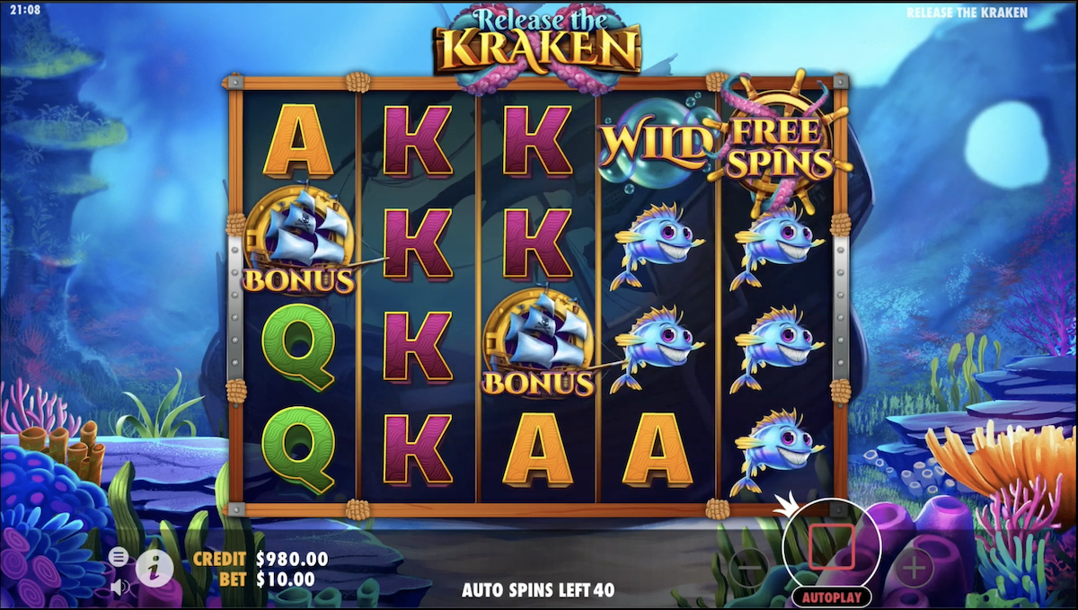 Release the Kraken Slots Games