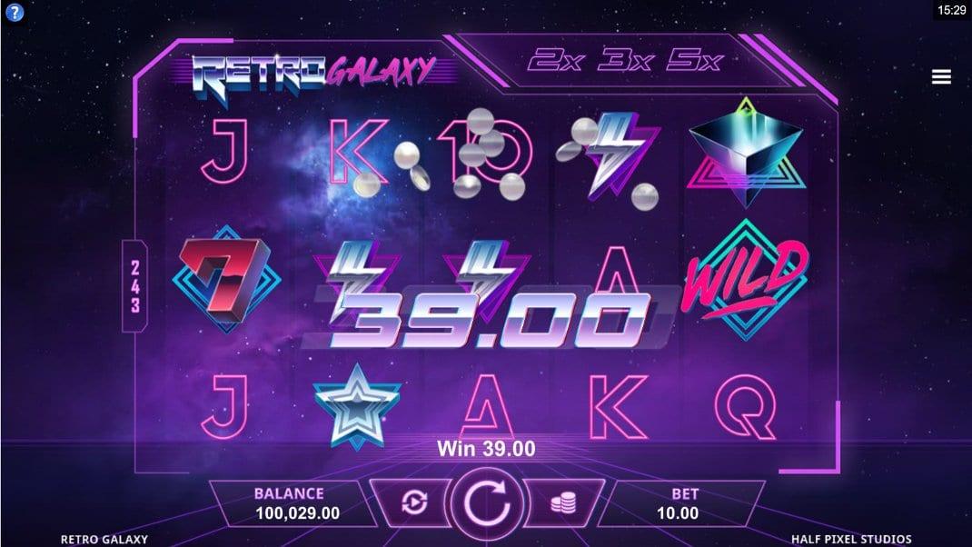 Retro Galaxy Slot Game