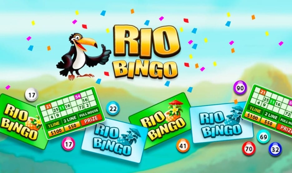 Rio Bingo online slots game logo