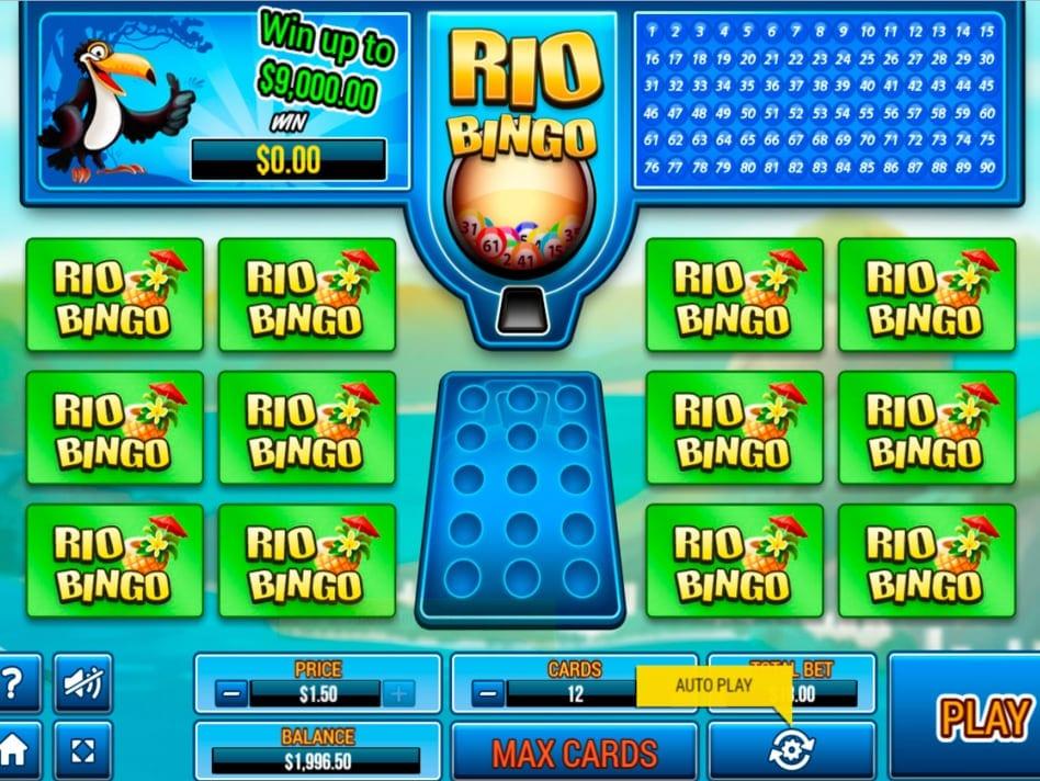 Rio Bingo Casino Game