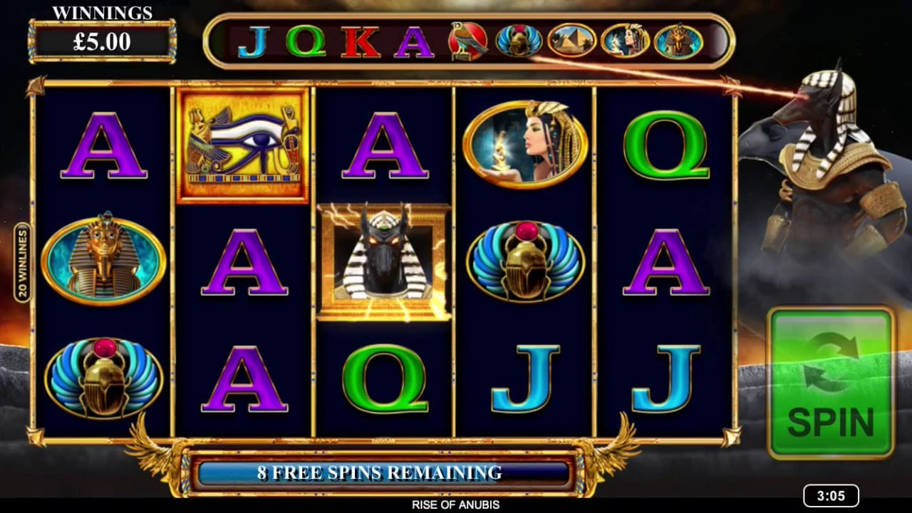 Rise of Anubis Slots Online