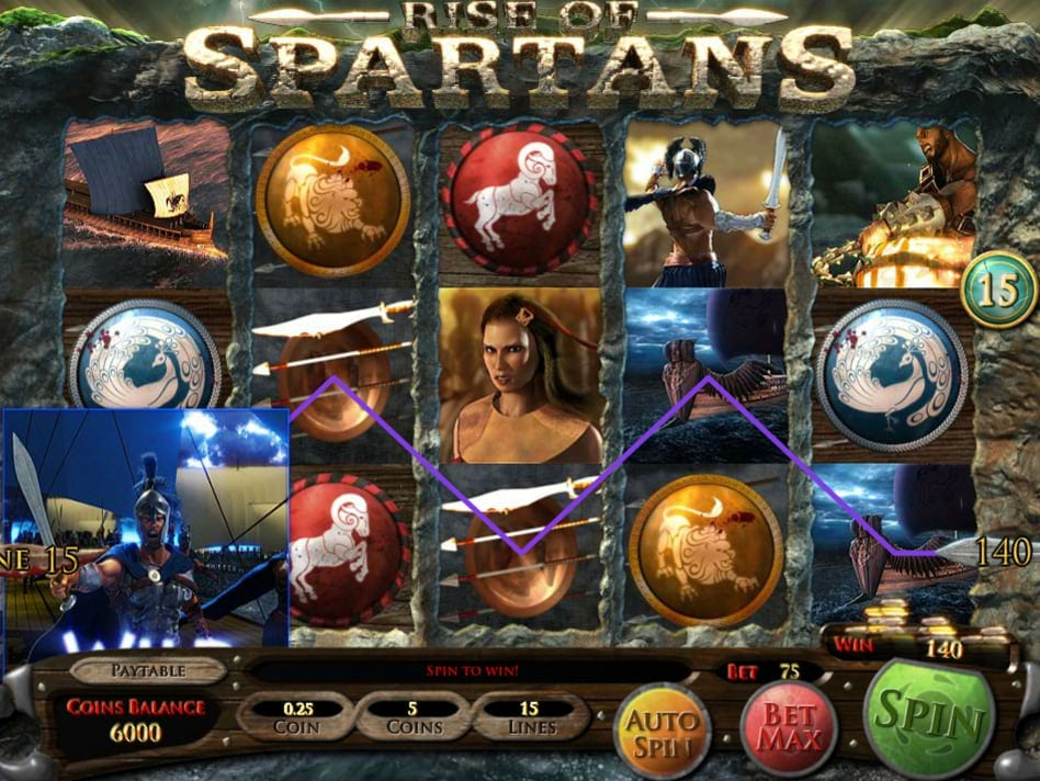 Rise of Spartans Slot Game