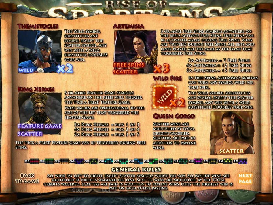 Rise of Spartans Slots Game