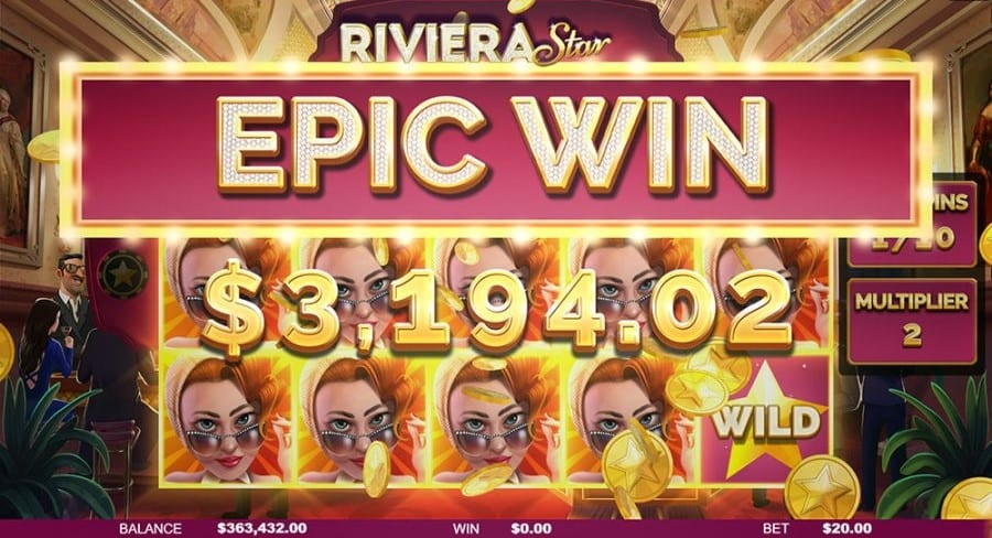Riviera Star Online Casino Game
