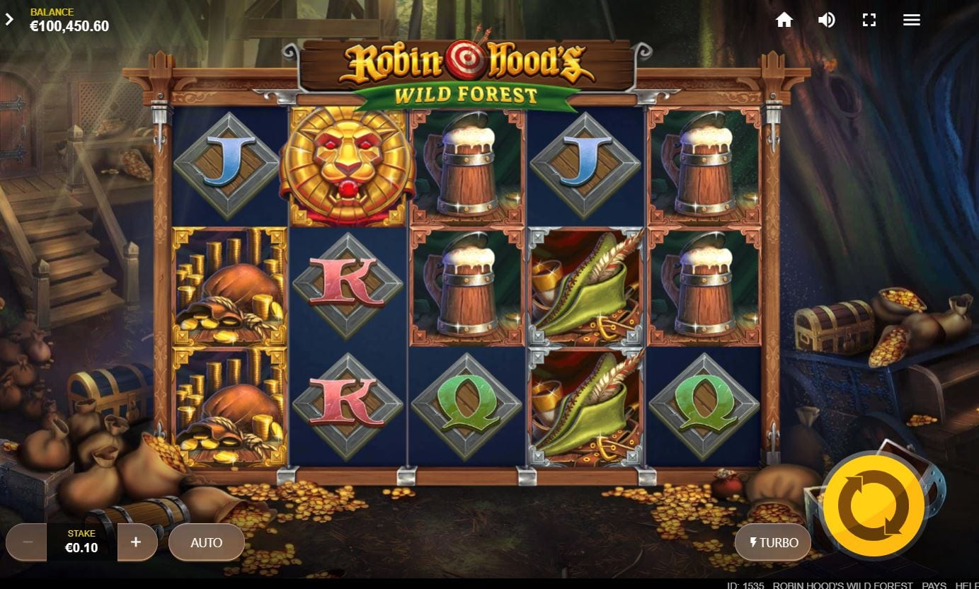 Robin Hood's Wild Forest Slot Game