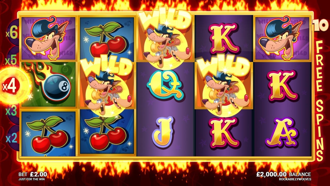 Rockabilly Wolves Slots