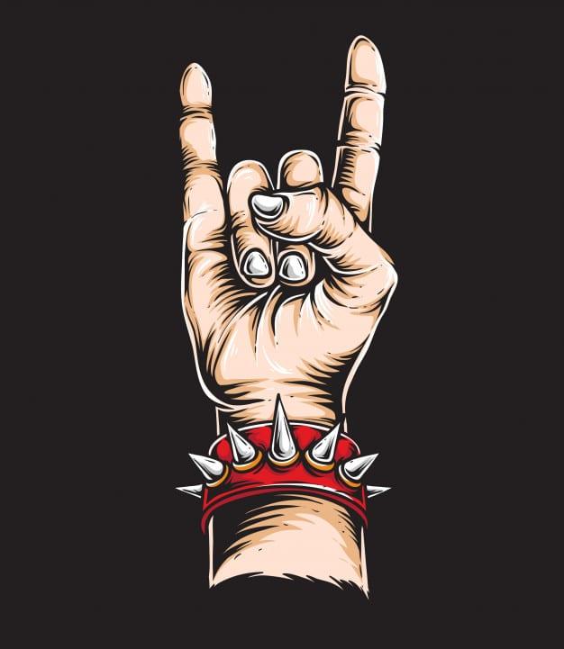 Rock n Roll Design theme
