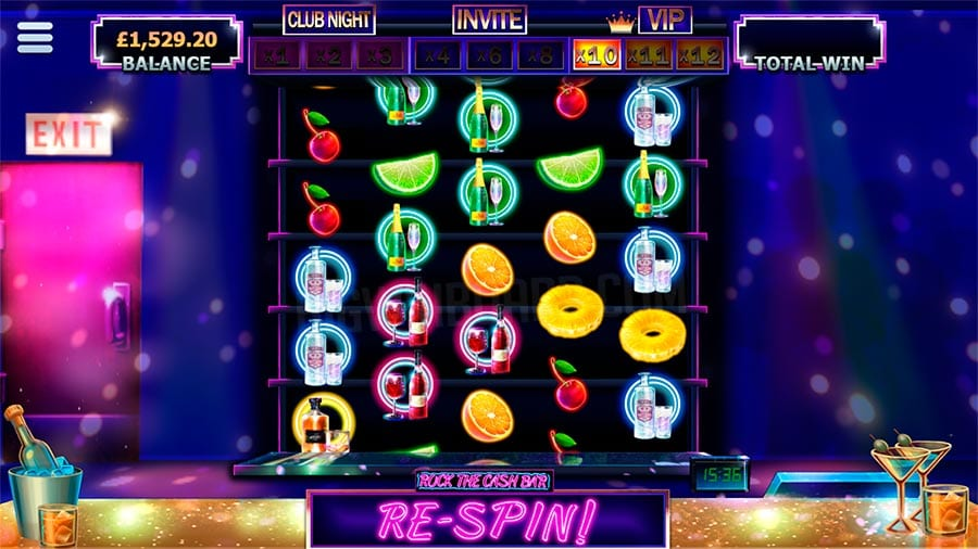 Rock the Cash Bar Slot Gameplay