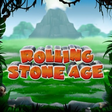 Rolling Stone Age Slots Game Logo