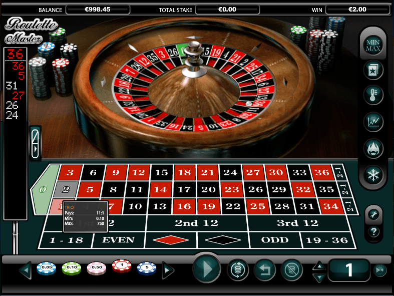 Roulette Master Gameplay