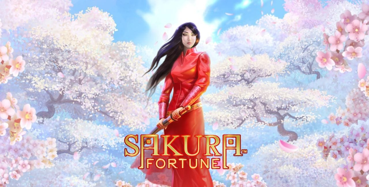 sakura fortune slots game logo