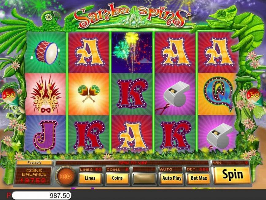 Play Samba Spins Slot Online
