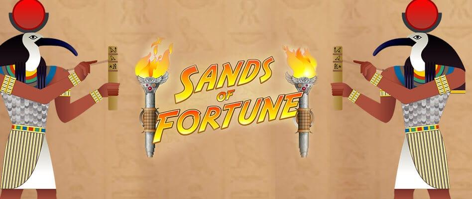 Sands of Fortune online slots game logo