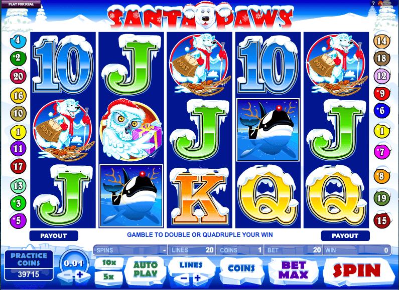 Santa Paws Slot Game