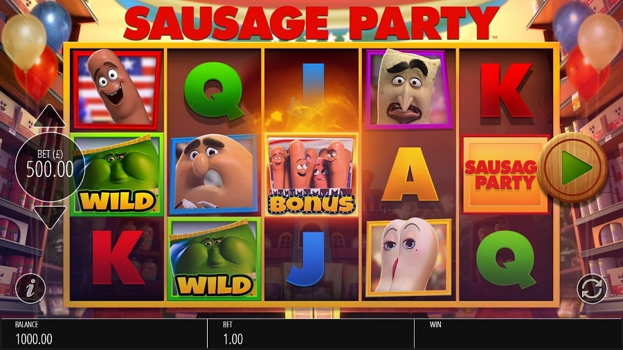 Sausage Party Slot Game