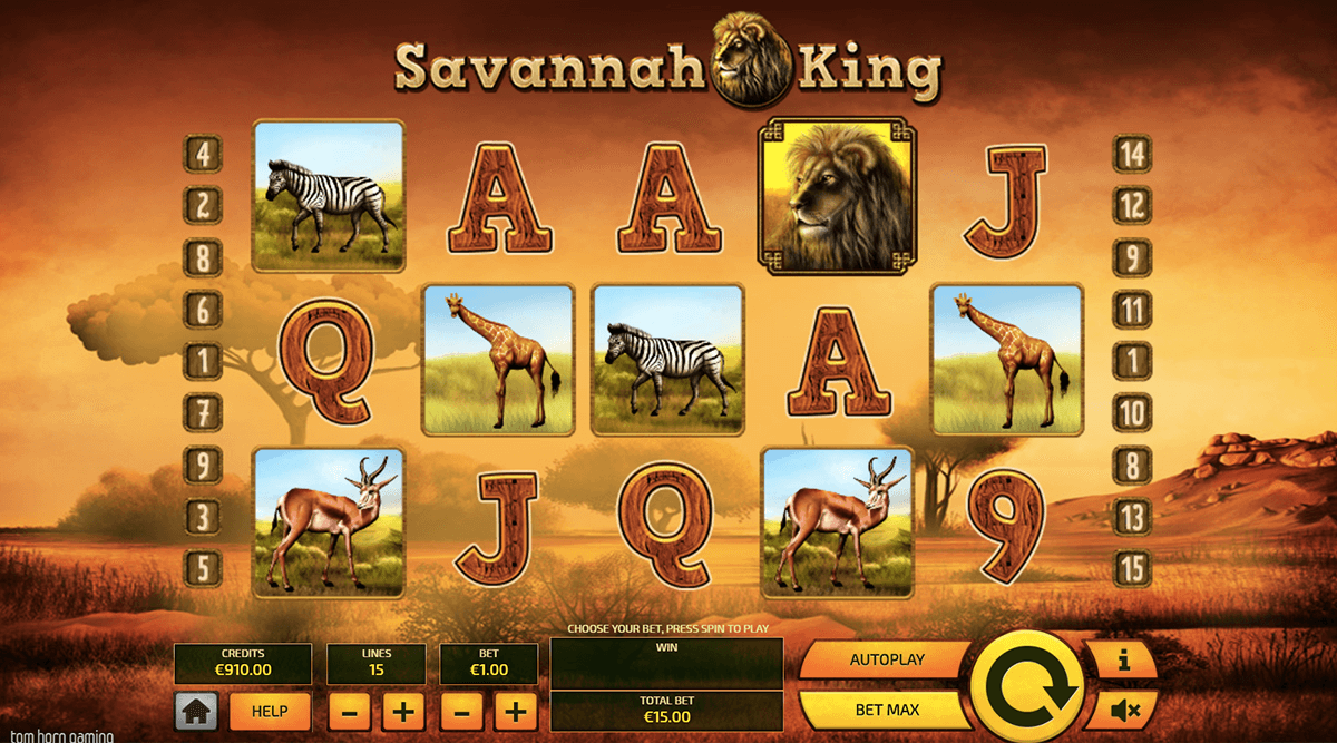 savannah king gameplay