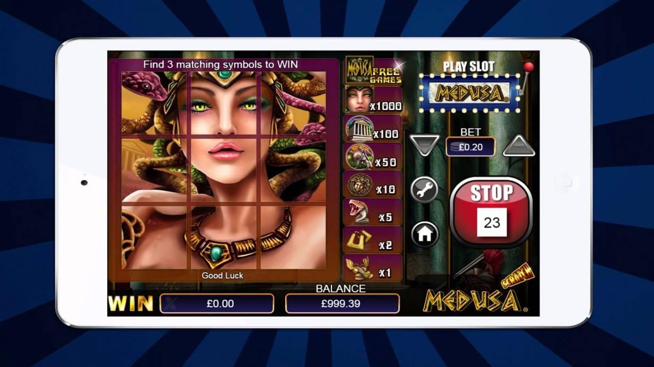 Scratch Medusa Mobile Game