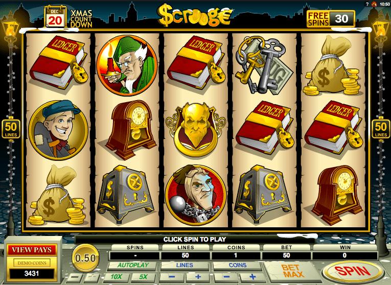 Scrooge Slots Game
