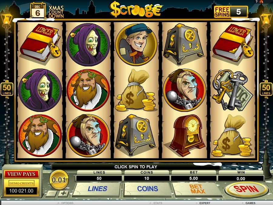 Scrooge Gameplay