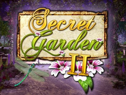 Secret Garden 2 online slots game logo