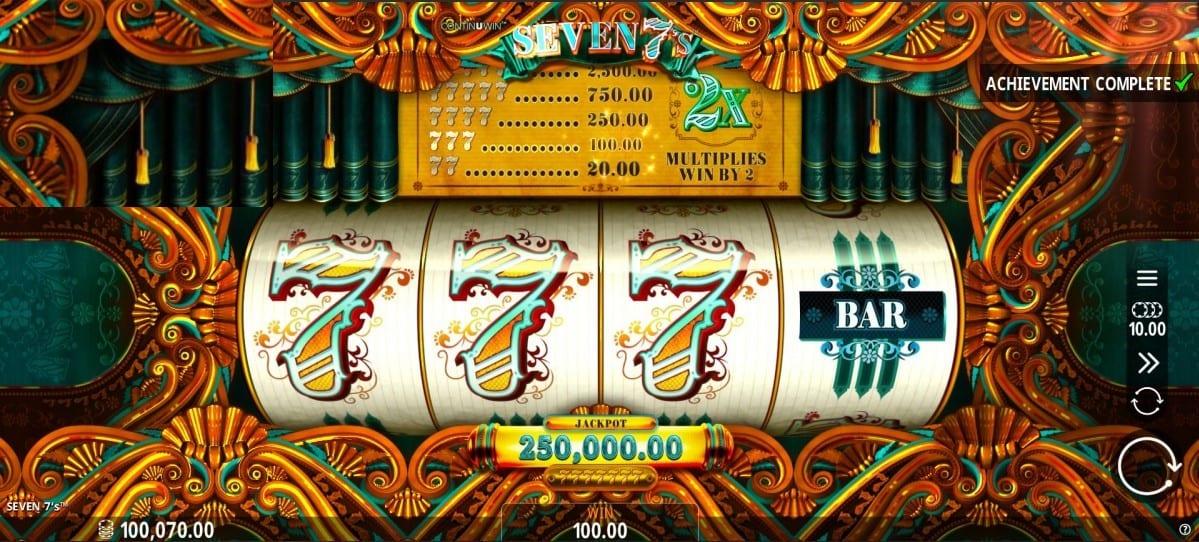Seven 7s Online Casino Slots