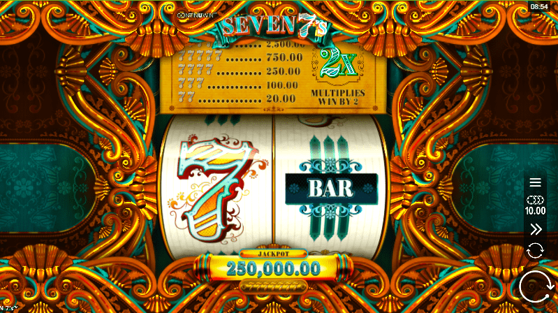Seven 7s Online Slots Game