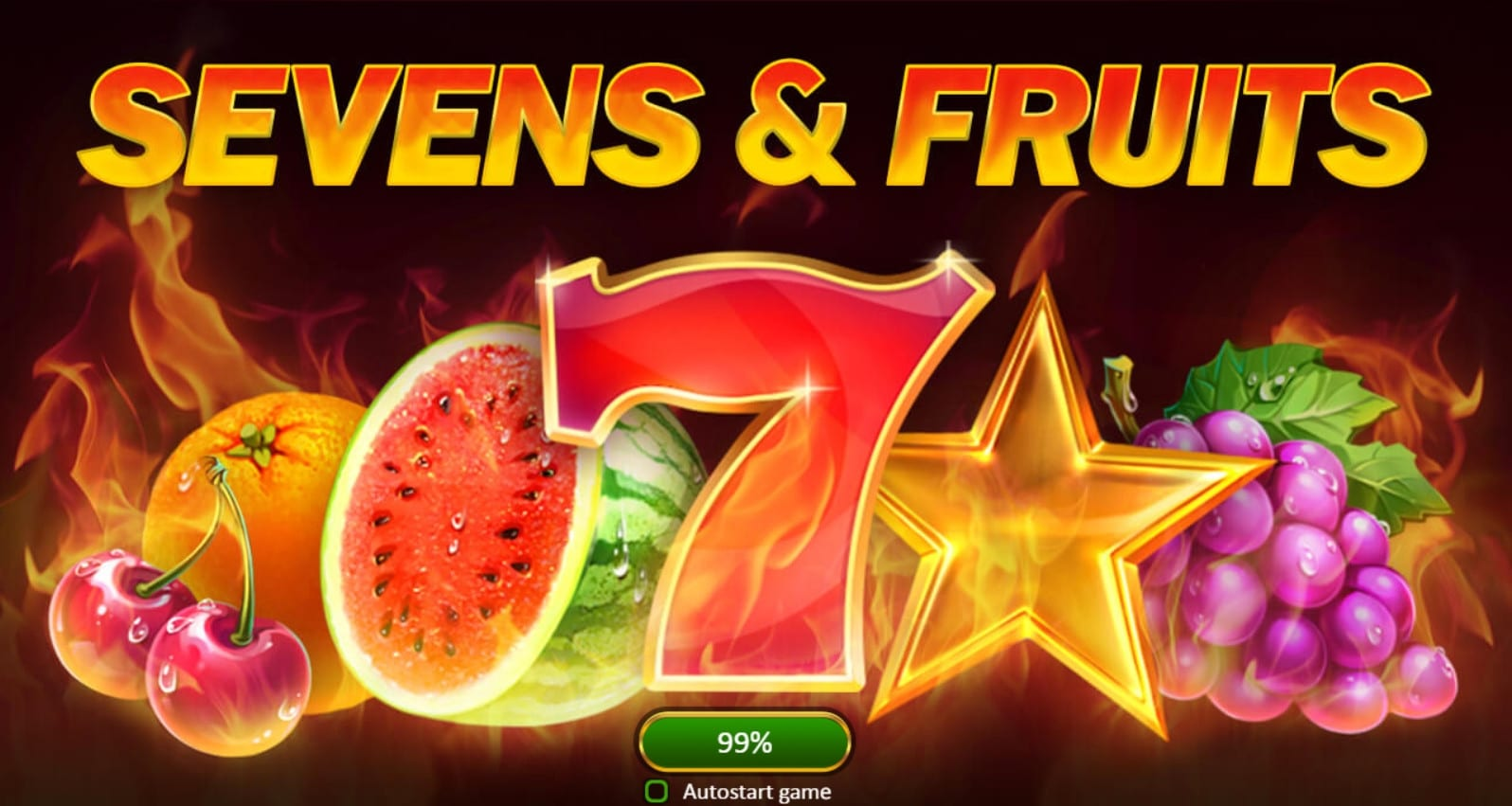sevens & fruits slots game logo