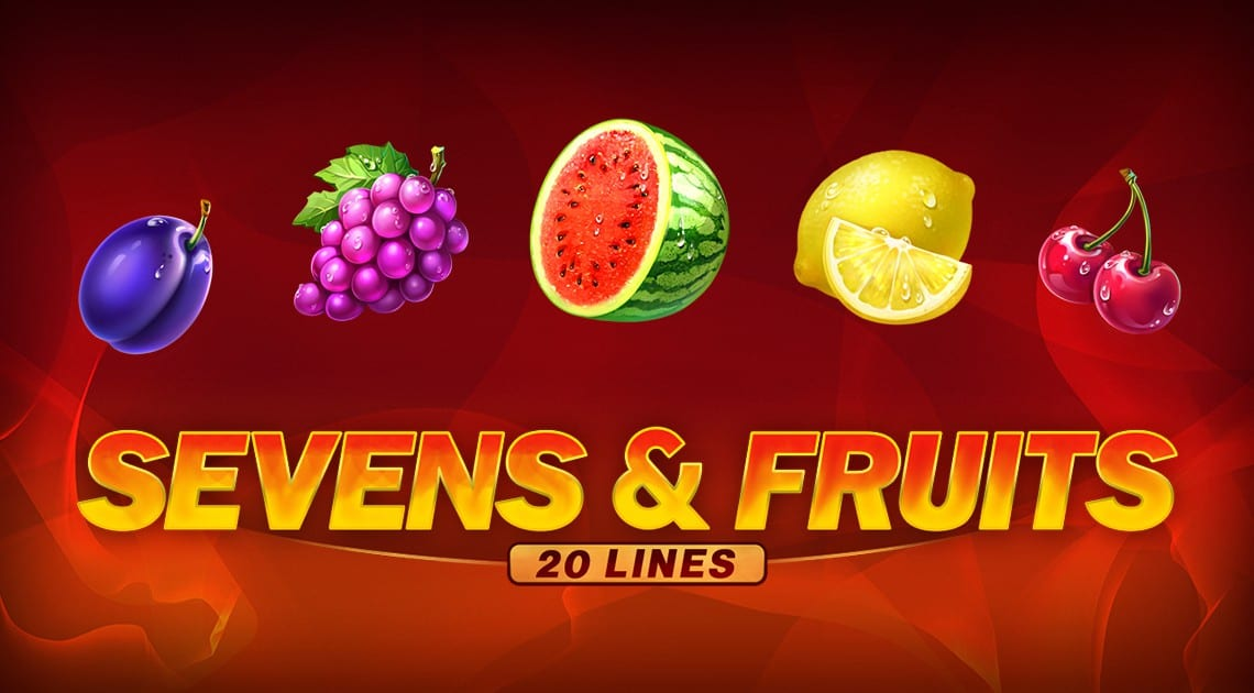 Sevens & Fruits: 20 Lines slot