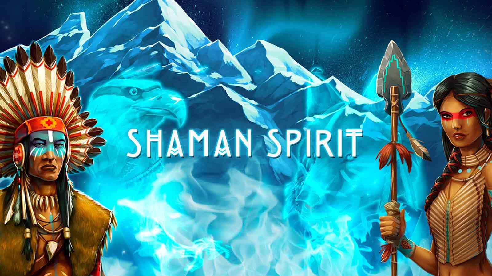 Shaman Spirit online slots game logo