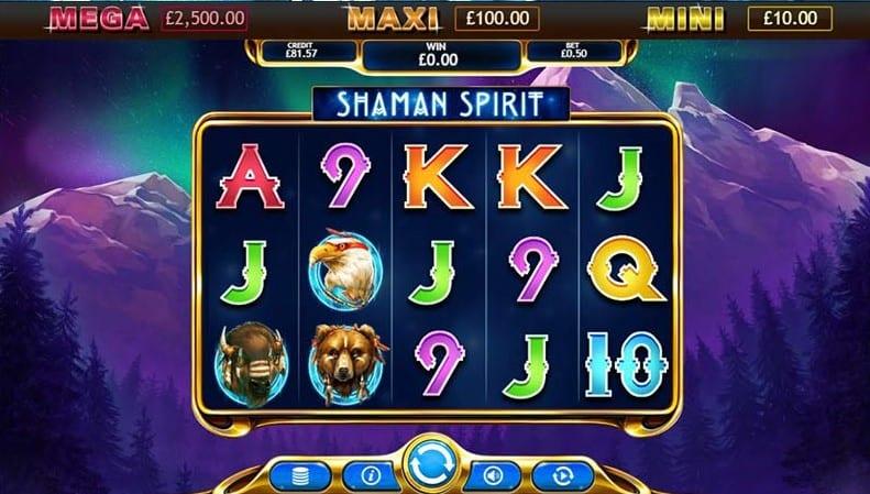 Shaman Spirit Jackpot Free Slots