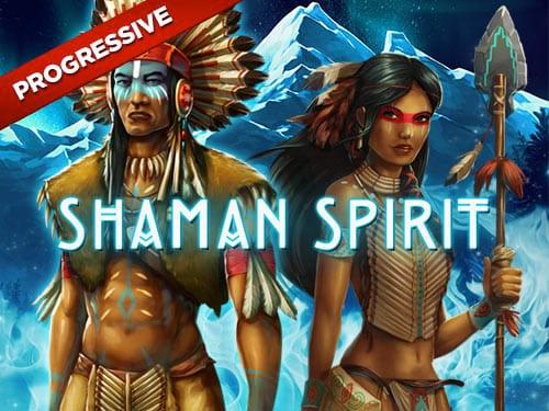 Shamans Spirit Jackpot Slots Game logo