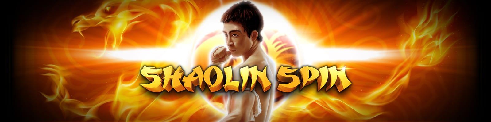 Shaolin Spin online slots game logo
