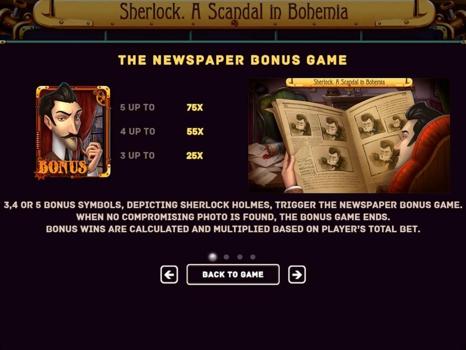 Sherlock: A Scandal in Bohemia Slots Online