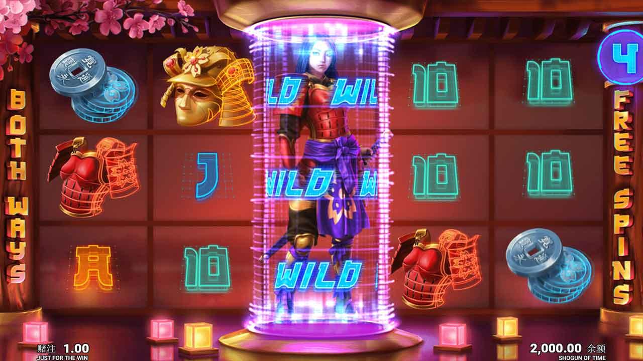 Shogun of Time Free Slots