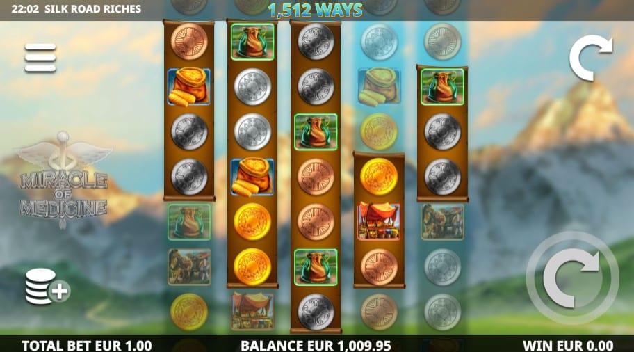 Silk Road Riches Slot Game