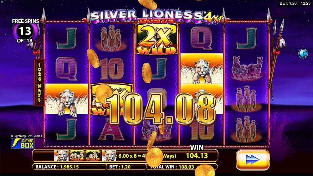 silver lioness 4x win