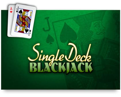 Single Deck Blackjack Pro online slots game logo