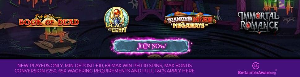 online slots promotion