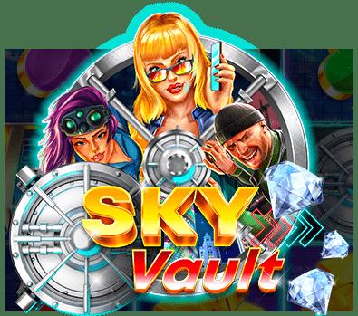 Sky Vault Slot Logo Wizard Slots